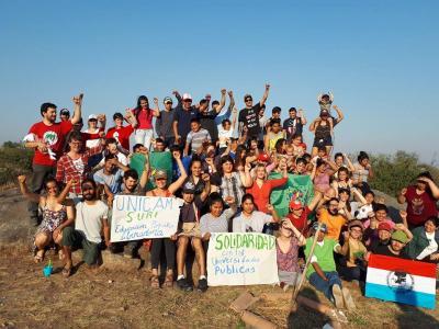 estudiantes campesinos indigenas